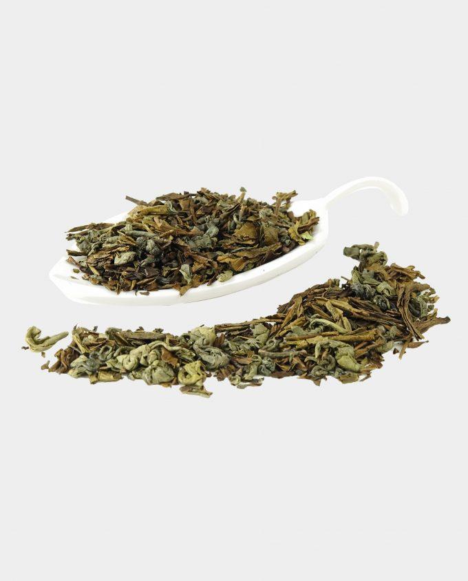 Basis thee met groene theekruiden