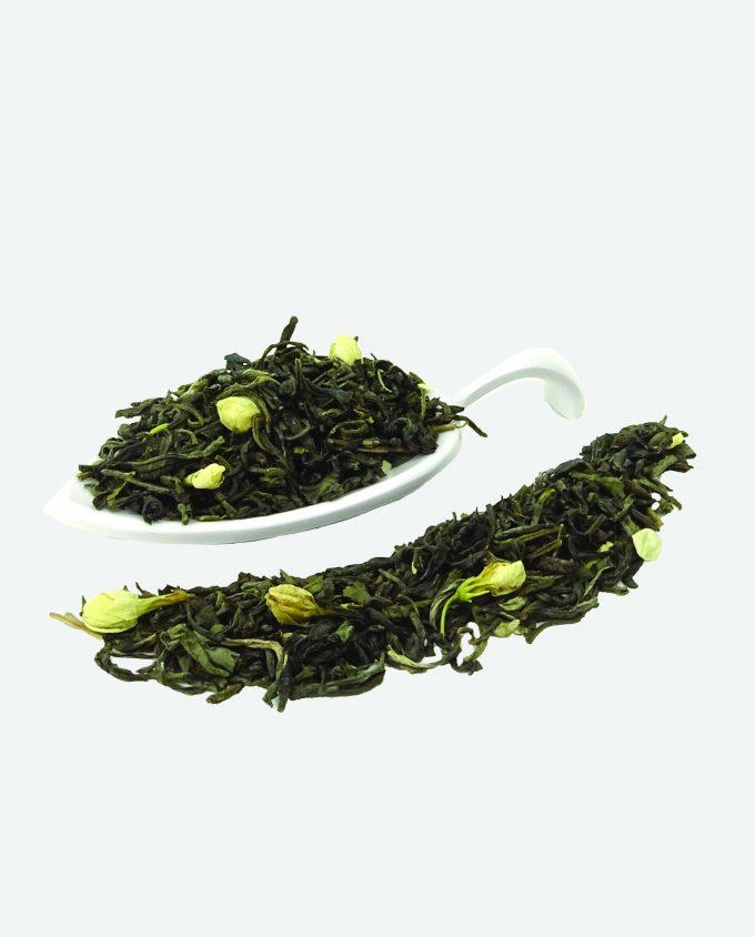 Basis thee met groene theesoorten en witte theesoorten