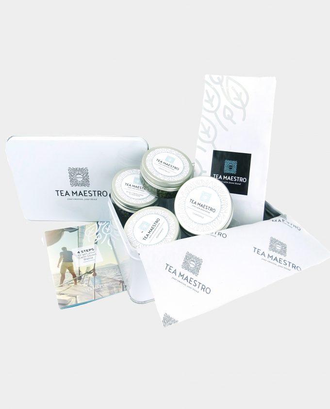 Thee cadeaupakket met rustgevende theesoorten