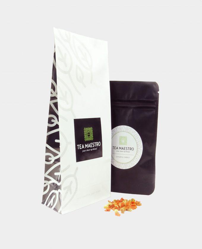 Theepakket met groene theesoorten