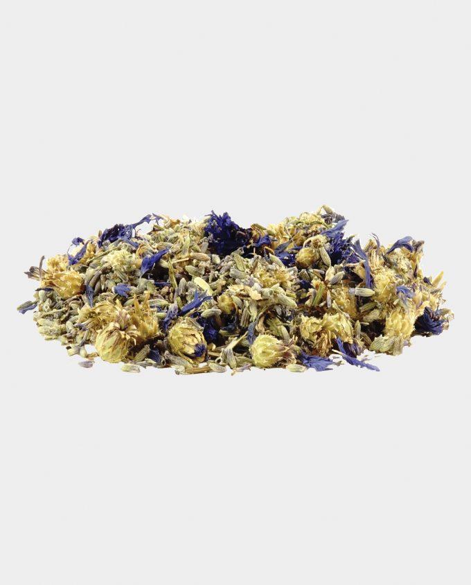 Lavendel blauwe korenbloem thee