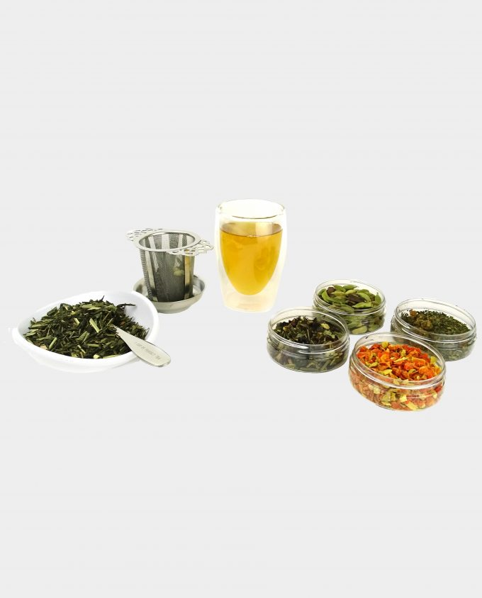 Kopje thee met frisse citroen thee
