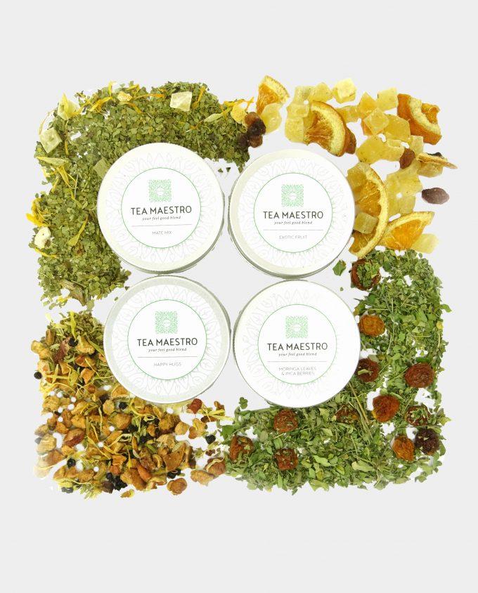 Assortiment jasmijn groene thee