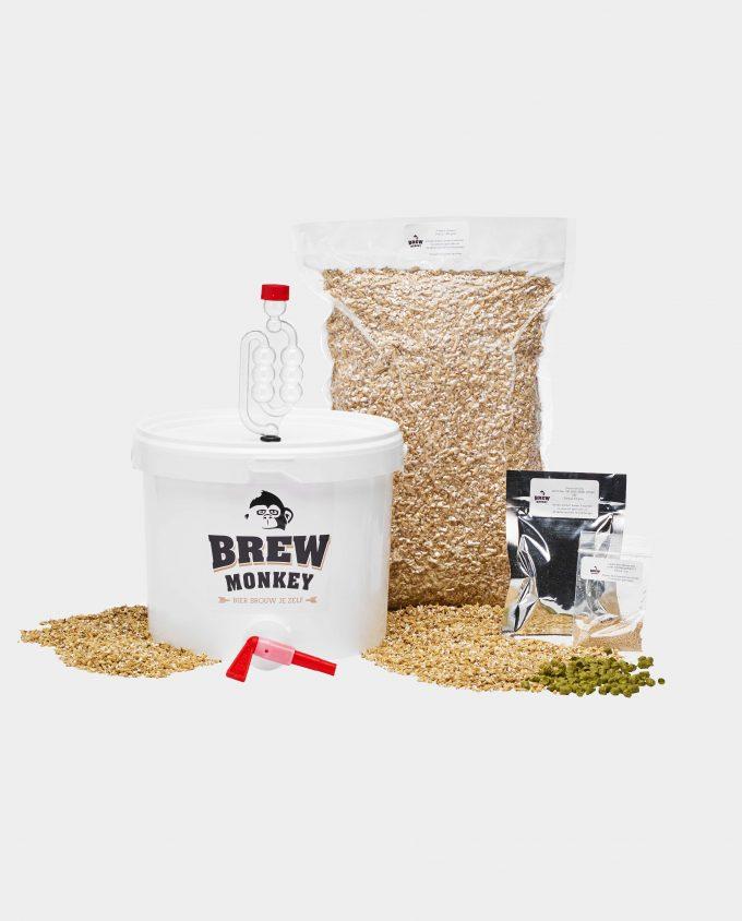 Ingredientenpakket zelf bier brouwen voor thuis