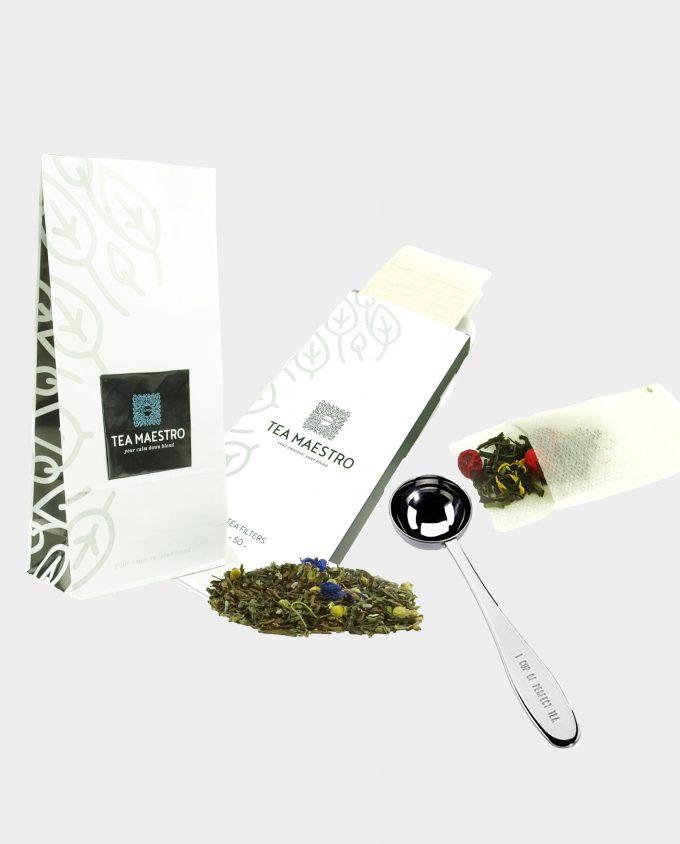 Thee cadeaupakket groene thee bestellen