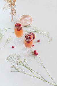 Cocktail met framboos
