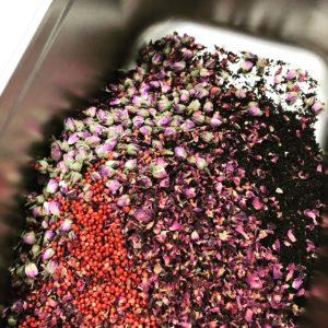 Love bloemen roos
